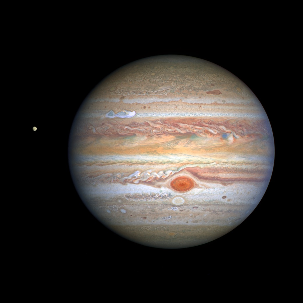 NASA releases new images of Jupiter captured with Hubble space telescope