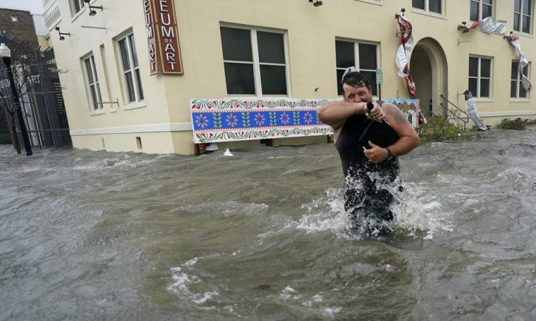 """Hurricane Sally prevents floods along the Gulf Coast from being """"catastrophic and life-threatening"""""""