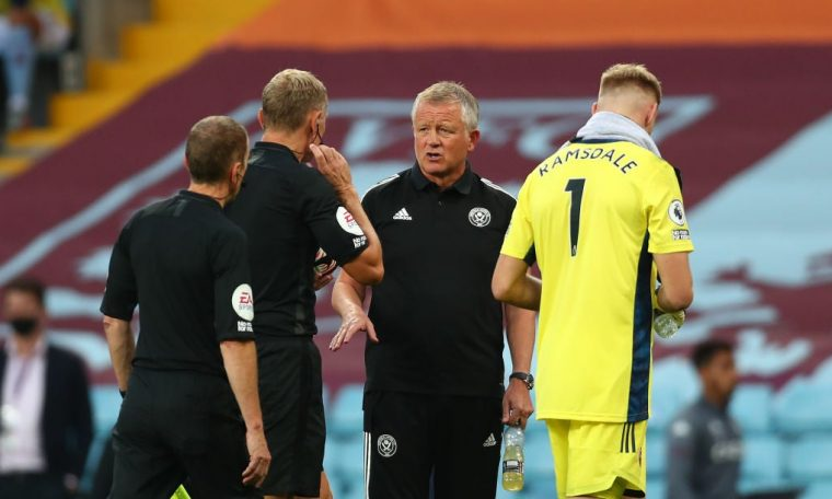 In 'Completely Confused', Chris Wilder suggests that Premier League owners need refereeing courses to understand the changes