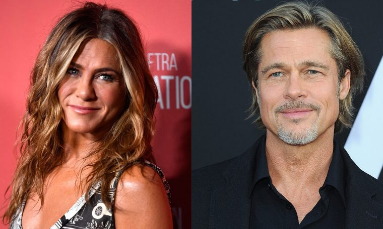 Jennifer Aniston, Brad Pitt in 'Regmont High at Fast Times' as she reads at the table