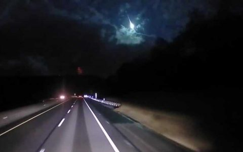 Put west. Flashing in the sky above, Ohio was probably a random meteor, experts say