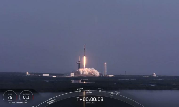 SpaceX launches 60 Starlink Internet satellites, stops rocket landings
