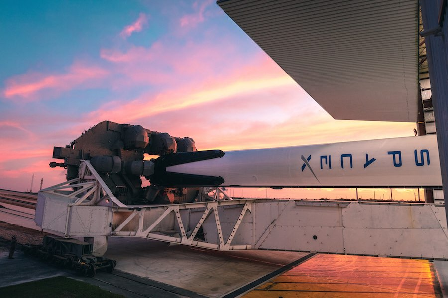 SpaceX eyes Starlink to connect rocket recovery ships to the internet