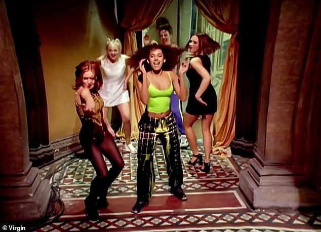 Great opportunity!  Spice Girls is reportedly planning to make a remake of their Vanneb video in 2021 for their 25th anniversary mark (pictured in the 1996 video).