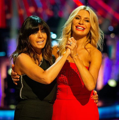 Let's Strictly Dance 2019, Week 1 Claudia Winkleman and Tess Daily