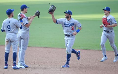 The Los Angeles Dodgers are in the playoffs for the eighth straight season