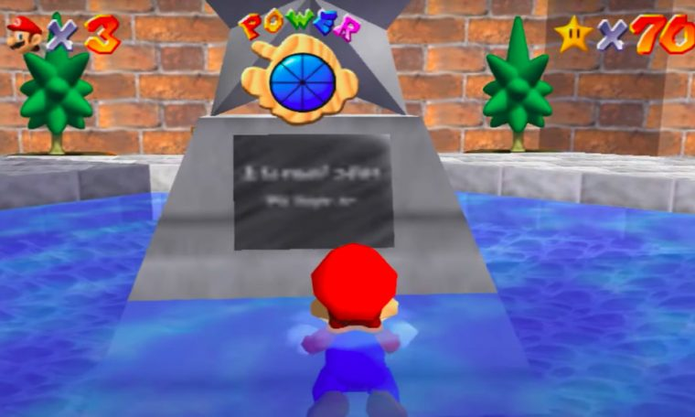 The old version of Super Mario 64 still can't be read on the switch