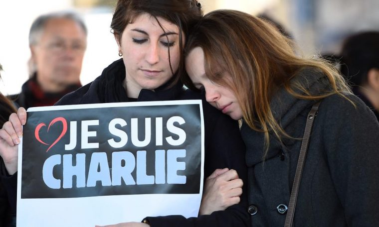 The satirical paper Charlie Hebdo re-released Mohammed's cartoon as 14 as the Paris attacks are being prosecuted.