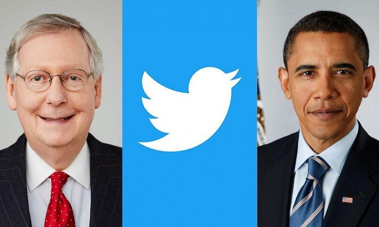 The experiment compared whether Twitter's image algorithm would focus on the face of either US politician Mitch McConnell or former President Barack Obama.