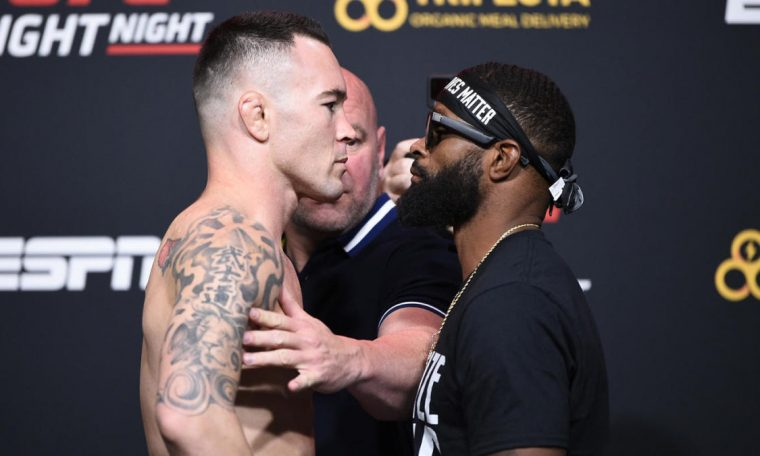UFC Fight Night Results - Colby Covington vs Tyrone Woodley: Live Updates, Highlights, Cards, Start Time
