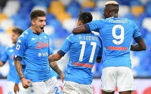 Unfortunately ਓSimhaen helped Napoli to Genoa dem now