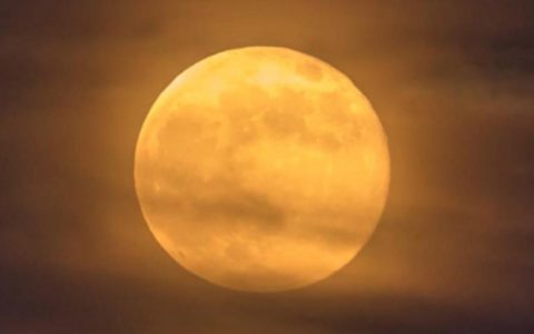Full moon in October: Wheat moon and a rare blue moon in Halloween