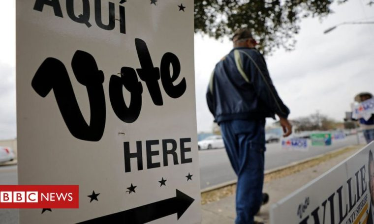 Texas governors cut polling stations in the weeks leading up to the election