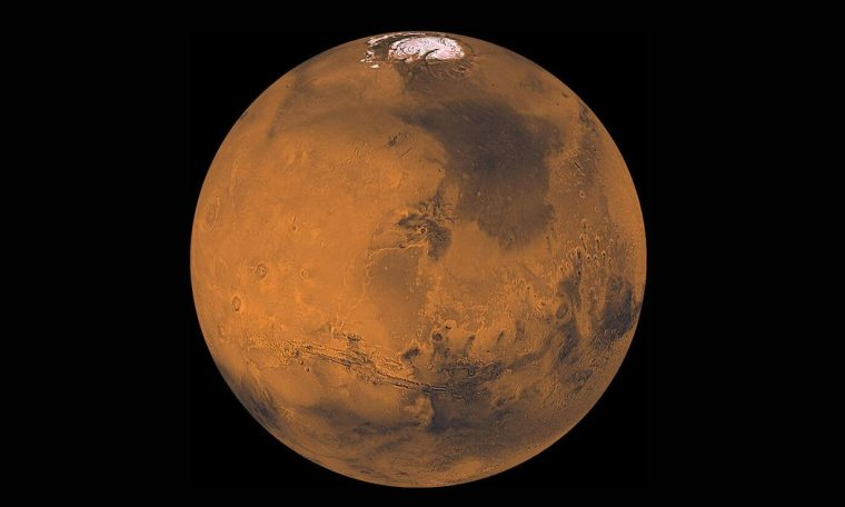 How Mars rules the night sky in October