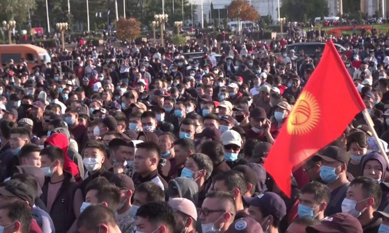 Kyrgyz election: Protests erupt in Parliament over allegations of bullying