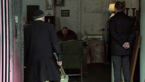 Mick confronts Gary Winds in Coronation Street