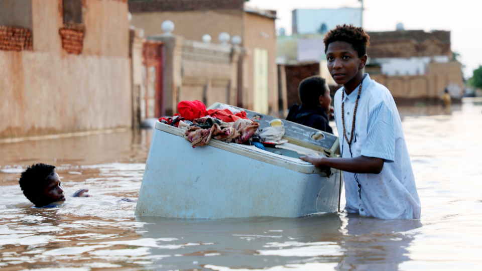 More than 860,000 people have been affected by unprecedented floods in Sudan this year