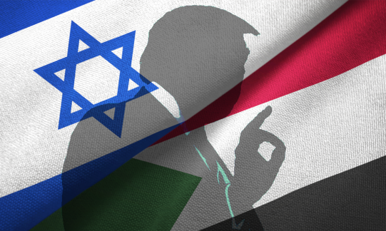 Why does Trump want Sudan to befriend Israel?