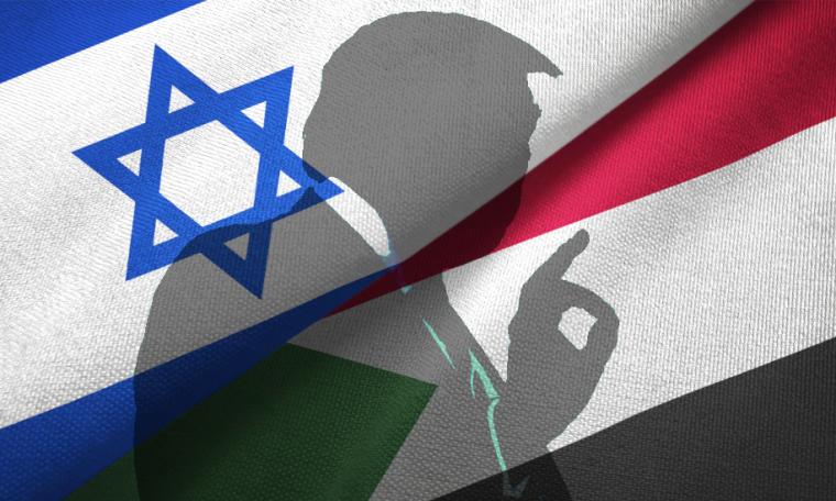 Why does Trump want Sudan to befriend Israel?