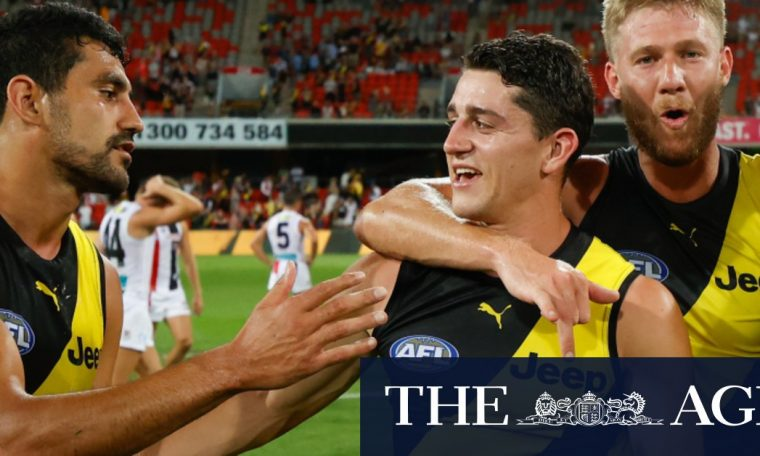AFL Finals 2020 | The Richmond Tigers advanced to the fourth consecutive opening final