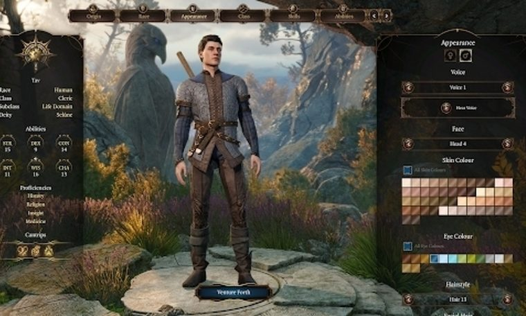 We are not specifically building Baldur's Gate 3 character-Eurogmarnet