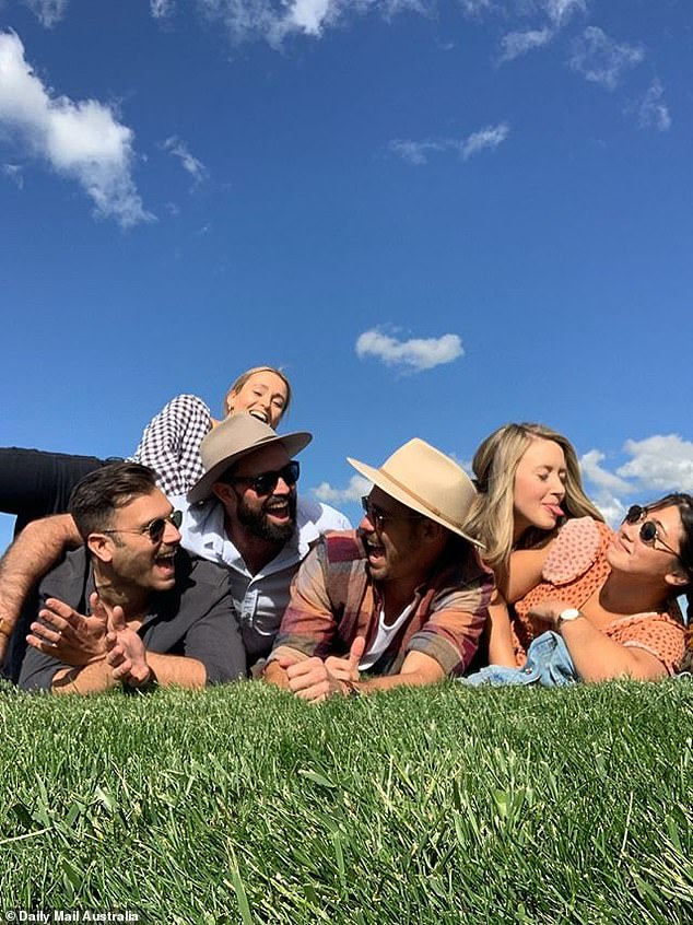 Doesn't this proof win him over?  The group was enjoying a leisurely trip to NSW's Borodale Vineyard, a few days after the reality show aired, suggesting they wouldn't win the show.