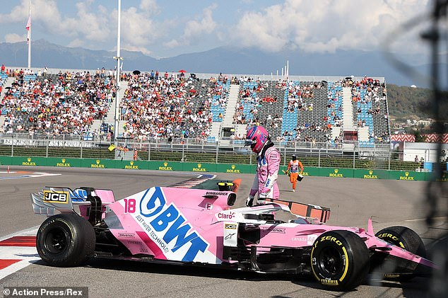 Stroll reportedly fell ill two weeks ago at the Russian Grand Prix in Sochi.