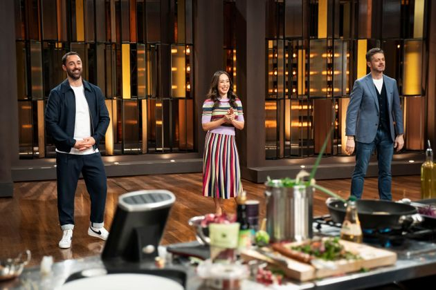 Andy Allen, Melissa Long and Jock Judge of 'Junior Masterchef Australia'
