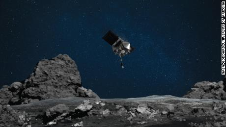 NASA's Osiris-Rex mission prepares to touch down on a planetary storm