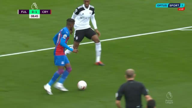 Zaha helps Eagles boss Fulham