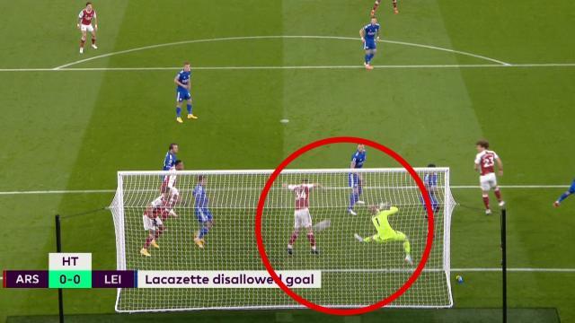 VAR robbed the goal?