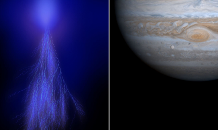 A look at the light obtained by NASA on the Jupiter Zeno mission