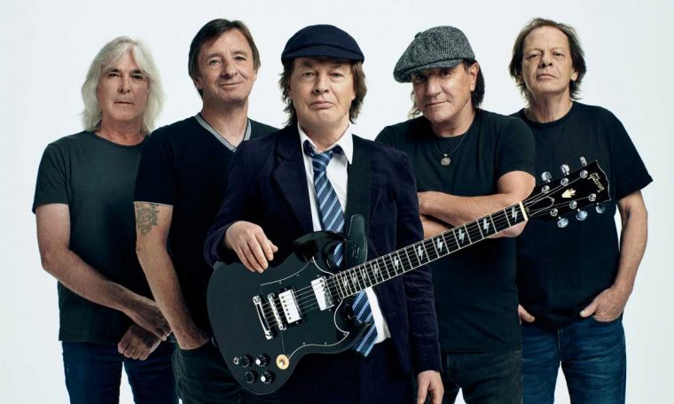AC / DC: We hope the power up will boost people's morale
