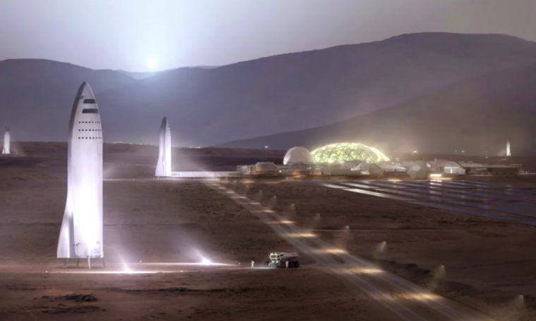 Alan Musk Reconnaissance SpaceX could land on Mars by 2024