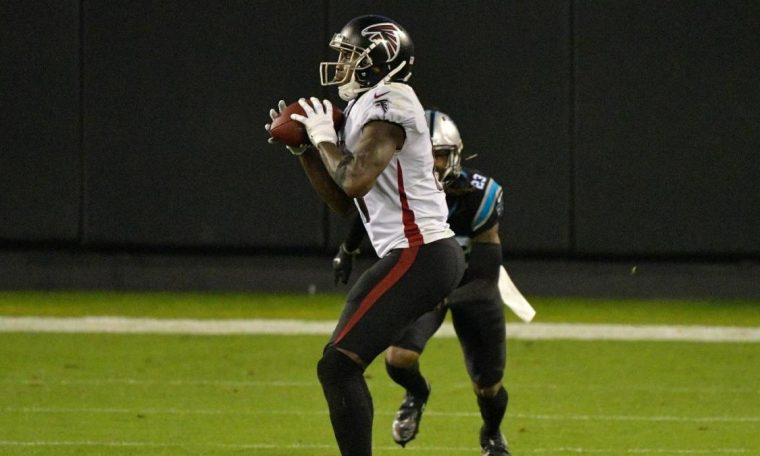 Falcons vs. Panthers Score: Julio Jones and an amazing defense effort lead Atlanta to a road hassle