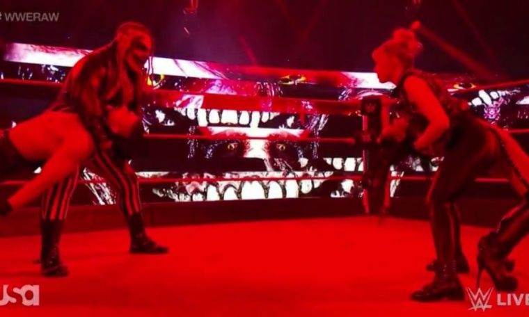 Find and Alexa Bliss Attack with Double Sister Abigail on WWE Raw