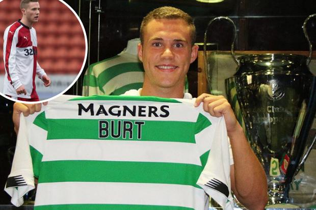 Former Celtic and Rangers kid Liam Burt is as fresh as Barnsley's move