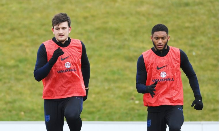 Gary Neville says England's center-backs are 'not good enough' to play in pairs