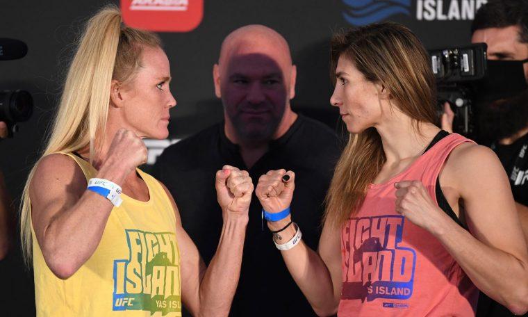 Holly Holm vs Irene Aldana Stardust Video of UFC Fight Island 4 Toll In