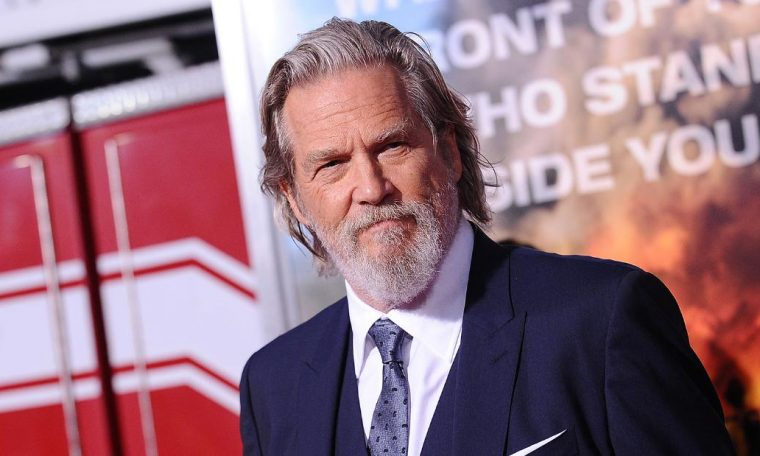 Jeff Bridges announced that he had been diagnosed with lymphoma
