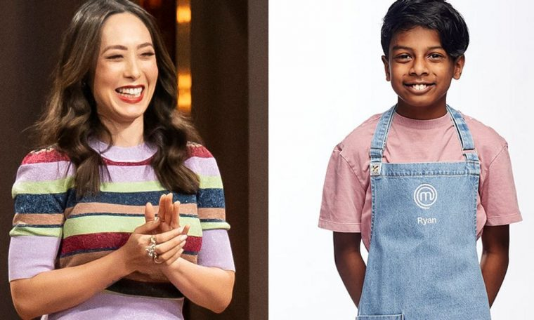Junior Masterchef Australia's Ryan joins Judge Melissa Leung for this beautiful cause