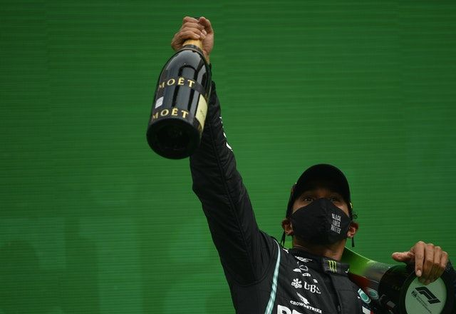 Lewis Hamilton won his record-breaking 92nd Grand Prix in Portugal on Sunday