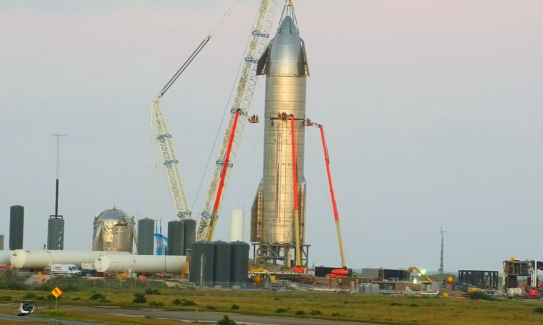 SpaceX Starship passes static fire test with three Raptor engines, finally gets nose cone!