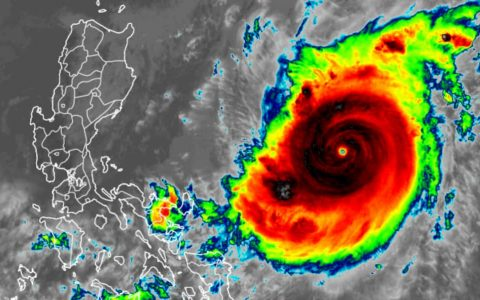 Super Typhoon Gony is the strongest hurricane of 2020, leaving for the Philippines