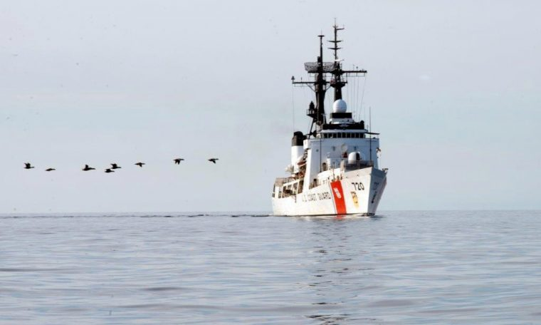 The United States will deploy Coast Guard ships in the western Pacific to deal with China.  China