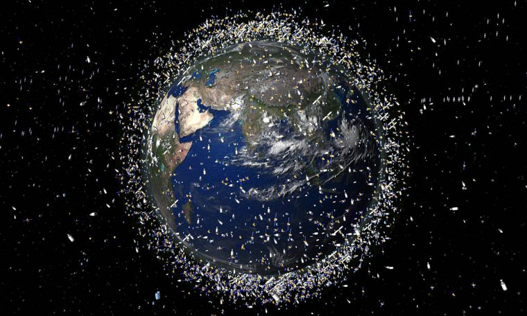 Two large pieces of space debris almost collided with the Earth - BGR.