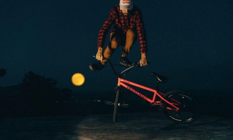 Watch BMX bike legend Terry Adams dances with Harvest Moon (video)