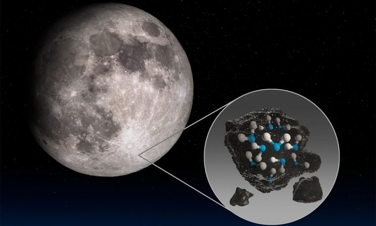 Five quick questions answered about finding water on the Moon