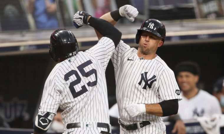 Yankees vs. Ray Scores: Glaber Torres and Luke White Homer, New York York Arms Sent to Force LDS Game 5