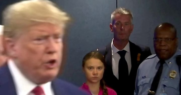 Greta Thumberg mocks Trump's election rage: 'Chill, Donald, cool !!'  - National